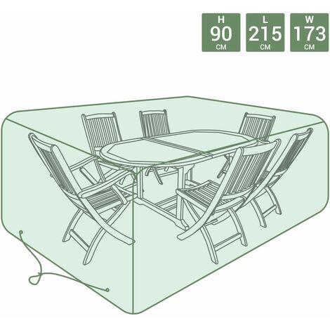 "main image of ""Charles Bentley Large Tarpaulin Garden Furniture Set Cover - Green - Green"""