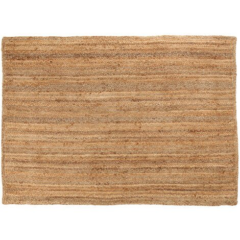 Charles Bentley Natural Jute Rug 133x190cm Hallway Lounge Kitchen Bedroom