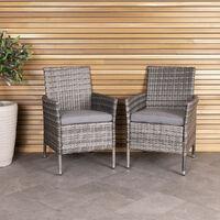 Cool Chairs Grey Charles Bentley Garden Furniture Retro Rattan Evergreenethics Interior Chair Design Evergreenethicsorg