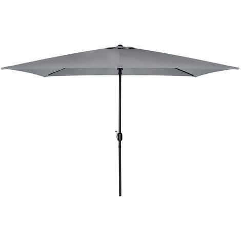 Charles Bentley - Parasol de jardin rectangulaire - 3 x 2 m - beige