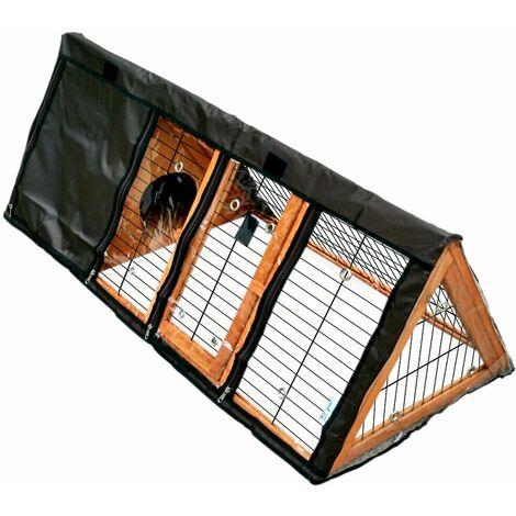 Charles Bentley Portable Triangle Run Waterproof Cover Black PET/RUN.01 - Black