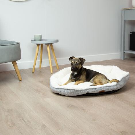 Charles Bentley Soft Large Grey Pet Bed - Small Medium Large