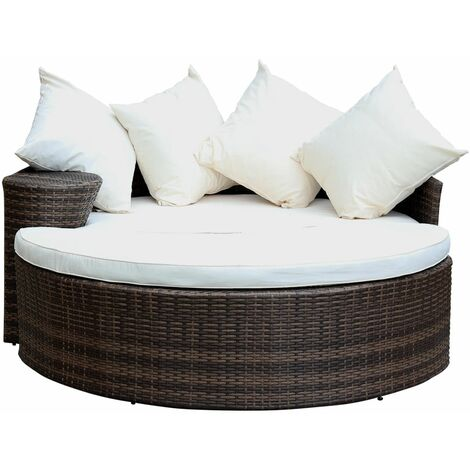 Curved Footstool Wicker Day Charles Brown Rattan Bentley Bed Mixed Sofaamp; thrdsxQC