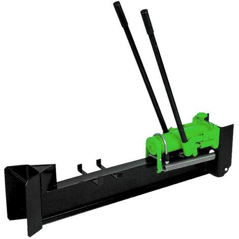 Charles Fendeuse à bois manuelle hydraulique - 10 tonnes - vert