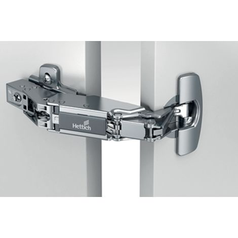Charnière HETTICH Sensys 8687 - Base 12,5 mm TH 52 - À visser - 9099660