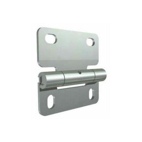 Charnière intermédiaire pour panneau standard - vendu à l'unité - - 25233.