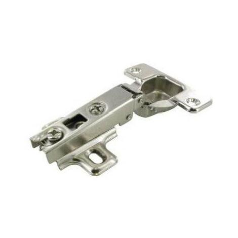 Charnière invisible ø 35 mm droit - plusieurs modèles disponibles