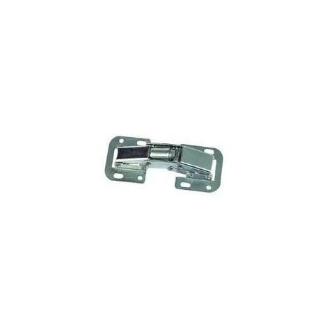 Charnière invisible - Hauteur : 44 mm - Longueur : 104 mm - ITAR