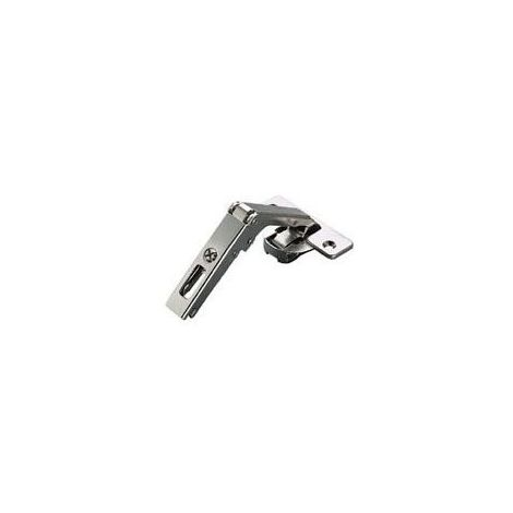 Charnière invisible - pour meuble d'angle - 70° - ea 48 - série 300 - Profondeur boîtier : 11 mm - Matériau : Acier / Zamac - Amortisseur : Sans - Diametre boîtier : 35 mm - Fixation : A visser - Ouv
