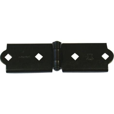 Charnière pour penture en 35 mm noir