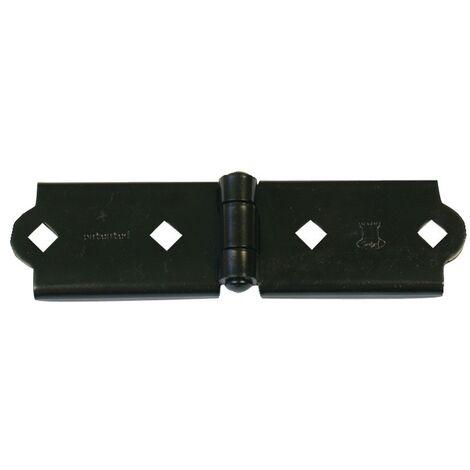 Charnière pour penture en 40 mm noir