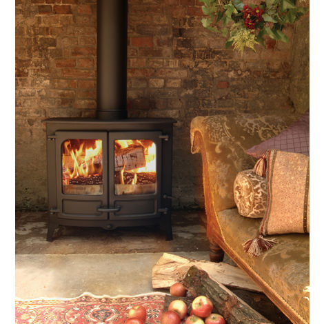 Charnwood Island Three Defra Approved Stove