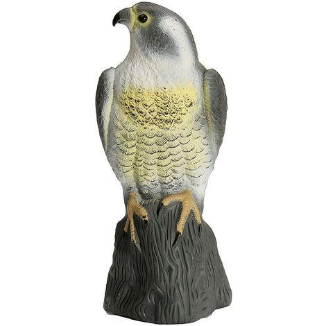 Chasse Leurre Oiseau Volant Faux Bruant Faucon Jardin Decor Oiseau Peur Jardin Plastique