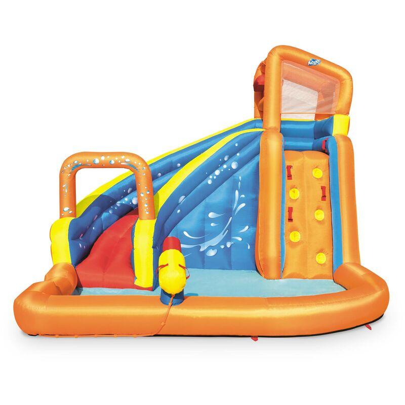 Château gonflable – Villandry - toboggan à eau gonflable, aire de jeu pour enfants, 3,65 x 3,2 x 2,7 m - ALICE'S GARDEN