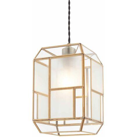Chatsworth Pendant Light Brass