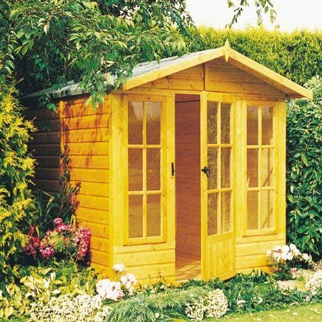Chatsworth Shiplap Summerhouse Garden Sun Room Approx 7 x 7 Feet