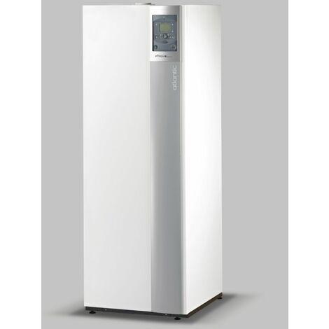 Chaudiere a condensation sol ATLANTIC EFFINOX DUO 5028 avec chauffe-eau sanitaire solaire, ventouse (non fournie) Ref. 021791