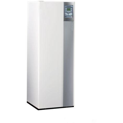 Chaudiere a condensation sol ATLANTIC EFFINOX DUO 5034 avec chauffe-eau sanitaire 130 l, ventouse (non fournie) Ref. 021792