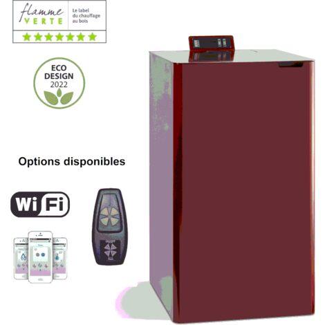 CHAUDIERE A GRANULES ARIA 13 KW - BORDEAUX option télécommande
