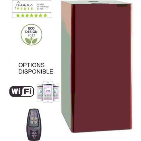 CHAUDIERE A GRANULES ARIA 20 KW - BORDEAUX option télécommande