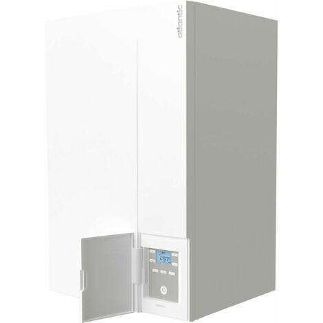 Chaudiere ATLANTIC murale gaz aÊ condensation NAEMA 2 DUO 25 kW chauffage + ECS accumulee 16 l/min cheminee/ventouse Ref. 021247