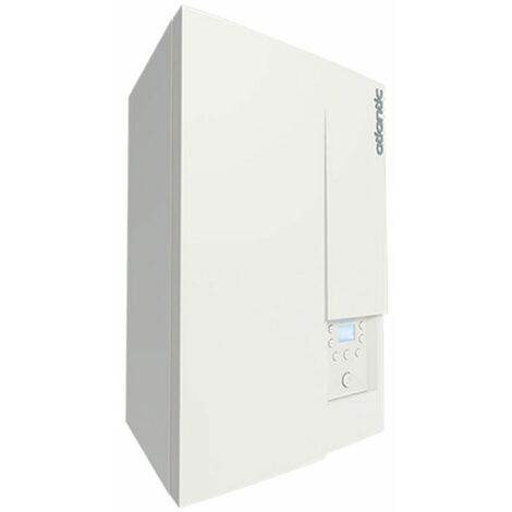 Chaudiere ATLANTIC murale gaz condensation ECS Naema 2 micro 30kW classe energetique A/A Ref 021243