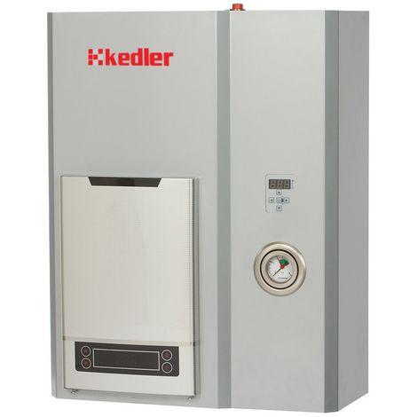 Chaudière électrique pour CC + ECS, Vénus 4kW 400V avec mini chauffe eau instantané 15KW