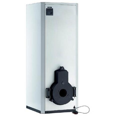 Chaudière fioul chauffage+ECS 100l cheminée sans brûleur