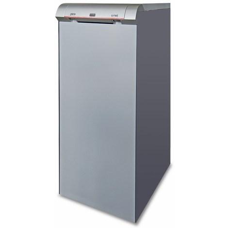 Chaudière fonte FUEL GITRE avec eau chaude sanitaire avec brûleur - GITRE 5 - Puissance 32 kW avec ballon ECS 100 litres