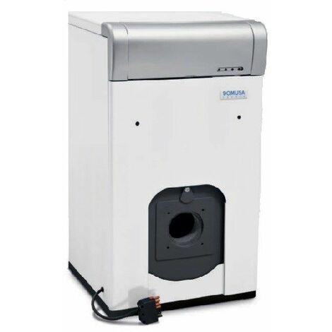 Chaudière fonte FUEL JAKA HFS chauffage seul sans brûleur ni capot - JAKA HFS 40 - Puissance 39 kW - sans brûleur