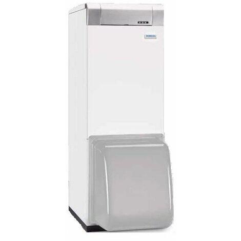 Chaudière fonte FUEL MCF HDN avec eau chaude sanitaire sans brûleur ni capot - MCF 30 HDN - Puissance 28 kW