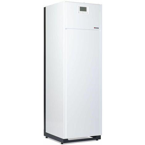 Chaudiere FRISQUET au sol gaz a condensation mixte instantanee PRESTIGE Condensation Visio 25 - 32 kW Classe energetique A/B ref. A4AL32020