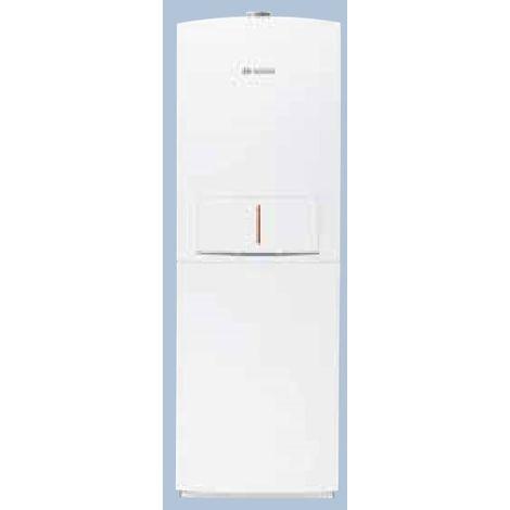 Chaudière gaz à condensation 22kW au sol chauffage + ECS ballon 150l accumulé ventouse CONDENS 5000 FM BOSCH BOS 7738100203