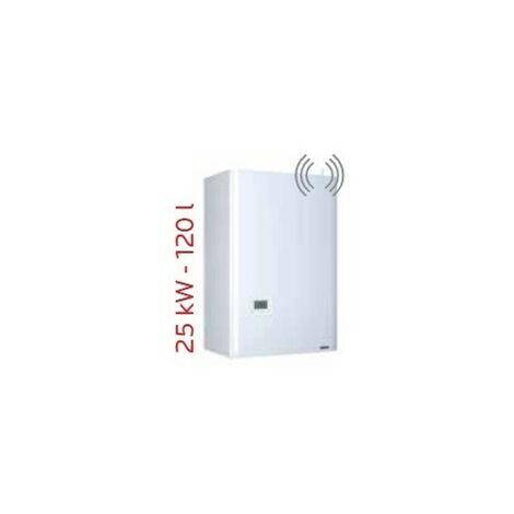 Chaudière gaz basse temperature 25kW chauffage + ECS à ventouse Ø 60-100mm murale ballon inox 120l HYDROCONFORT Evolution Visio