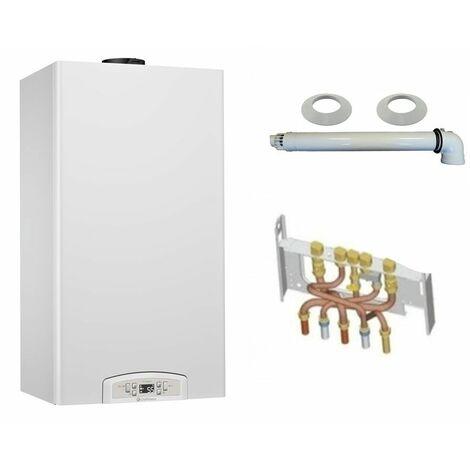 """main image of """"Chaudière Gaz Condensation Inoa Green Chaffoteaux 25 kW Complète (Ventouse + Douilles + Dosseret) avec Thermostat Filaire"""""""