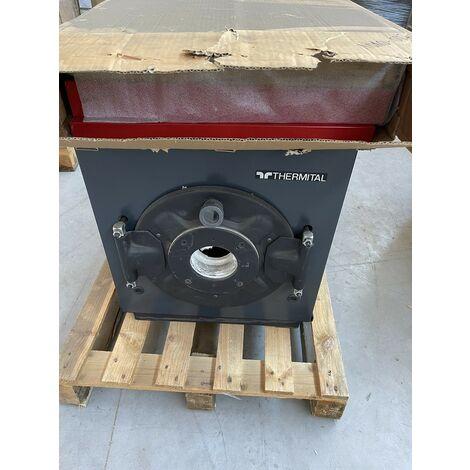 Chaudiere gaz/fioul 30KW sans bruleur ni panneau de commande cheminée corps acier 985x595x545mm EUROPA THE/V29 THERMITAL
