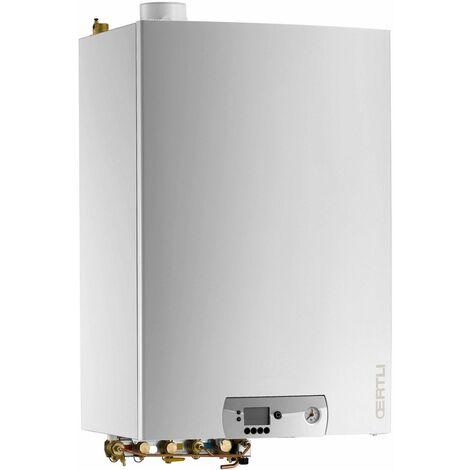 Chaudière murale à condensation GMR 1024 CS CONDENS-2 chauffage + ECS avec ballon ECS intégré - GMR 1024 CS-2 CONDENS-2 - Puissance 6,3 à 25,3 Kw - GN - Puissance ECS 27.4 Kw