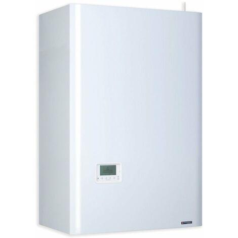 Chaudiere murale basse temperature mixte accumulee FRISQUET HYDROCONFORT Evolution Visio 25 kW 80 litres, Ref. B4AJ25020