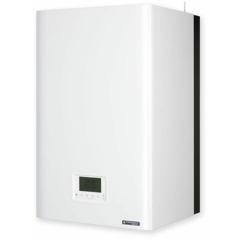 Chaudiere murale gaz basse temperature mixte instantanee FRISQUET HYDROMOTRIX Evolution Visio 25 kW Ref. B4AA25020