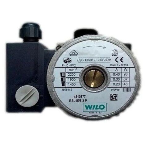 Chaudière pompe de circulation Wilo Rsl15,6 Saunier Duval Thelia30E 05600400