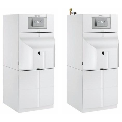 Chaudière sol fioul à condensation OEcOil-2 Condens avec eau chaude sanitaire cheminée ou ventouse - FVCX-2 24P/EL 110SL équipée - Puissance 24 kW - 1 circuit direct - Version cheminée