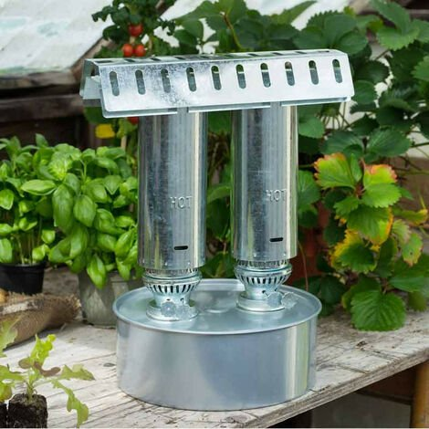 Le chauffage à pétrole, pour les mini-serres et serres de jardin de petite taille