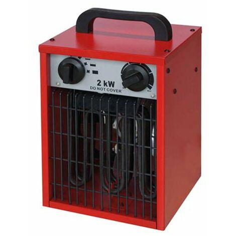 Chauffage air pulsé électrique radiant 2000W