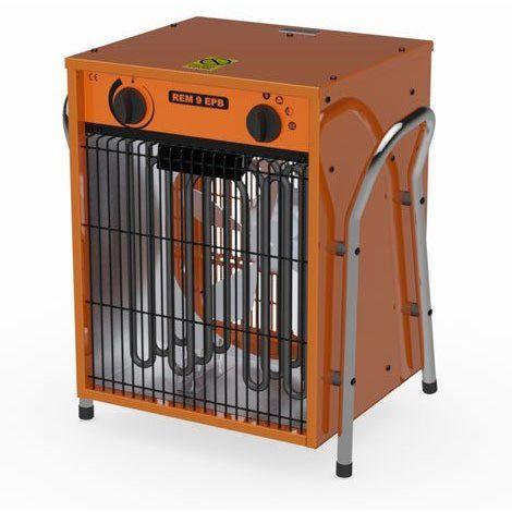 Chauffage air pulsé électrique radiant REM9 400V