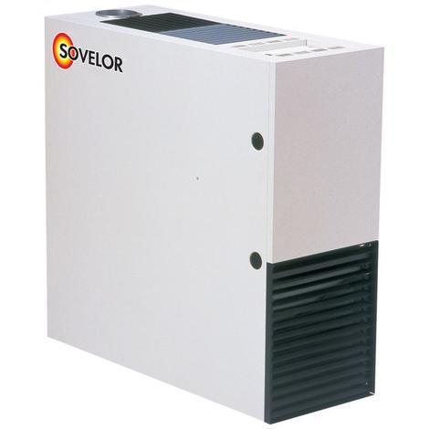 Chauffage air pulsé fixe sans brûleur fuel à combustion indirecte Gamme SF ' Compact' SOVELOR- SF25 - -