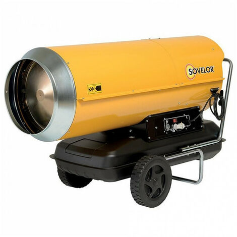 Chauffage air pulsé mobile au fuel à combustion directe (sans cheminée) HP110 SOVELOR
