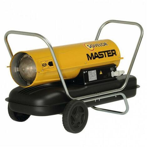 Chauffage air pulsé mobile au fuel à combustion directe (sans cheminée) MASTER B150 SOVELOR