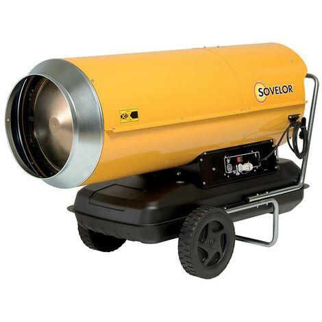 Chauffage air pulsé mobile au fuel HP 110 - Sovelor