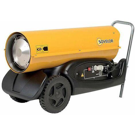 Chauffage air pulsé mobile au fuel HP 50 - Sovelor