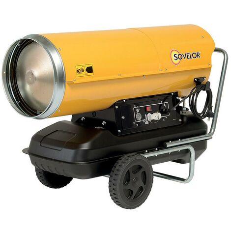 Chauffage air pulsé mobile au fuel HP 65 - Sovelor